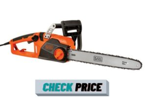 BLACK+DECKER Electric Chainsaw,