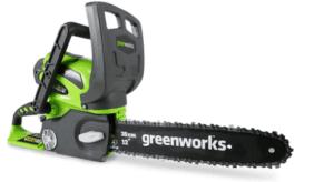 Greenworks 12 Inch Cordless Chainsaw