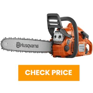 husqvarna 435 chainsaw review