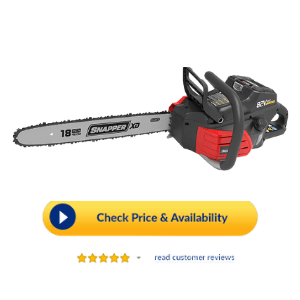 Snapper 82v chainsaw review